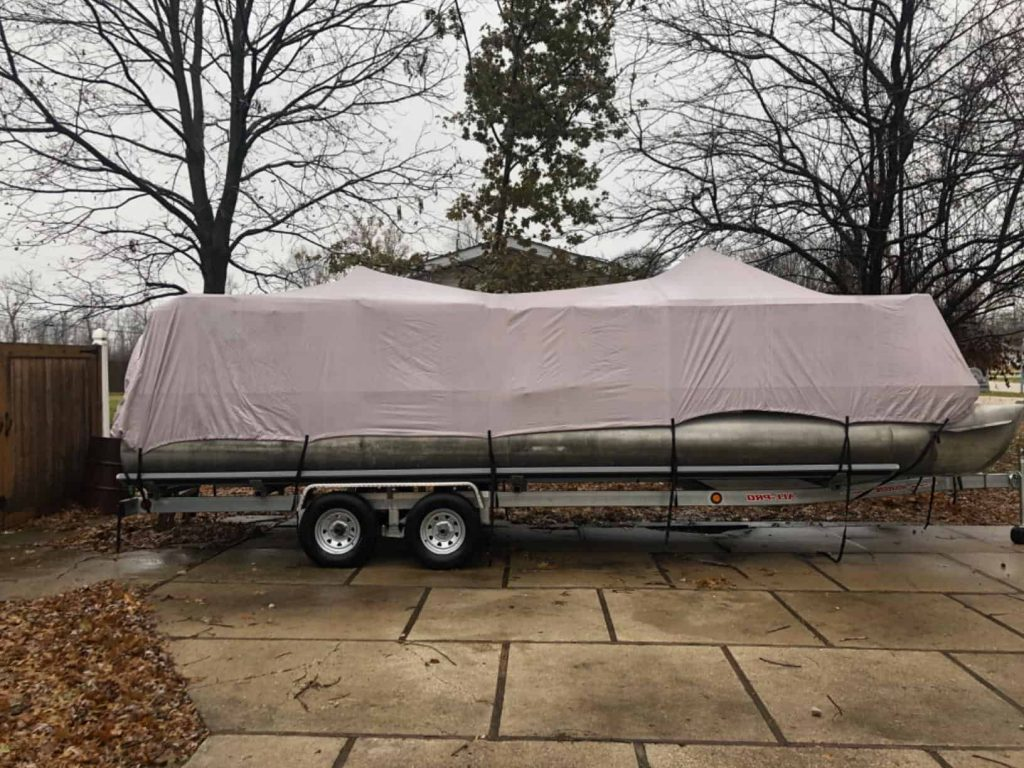 Top Pontoon Boat Covers