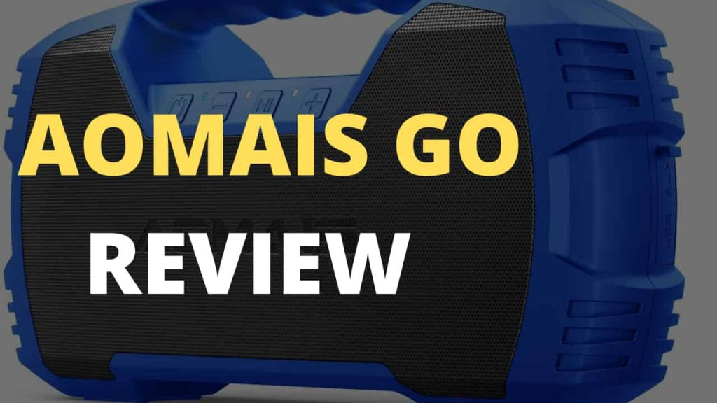 Aomais Go Speaker Review - Bass Head Speakers