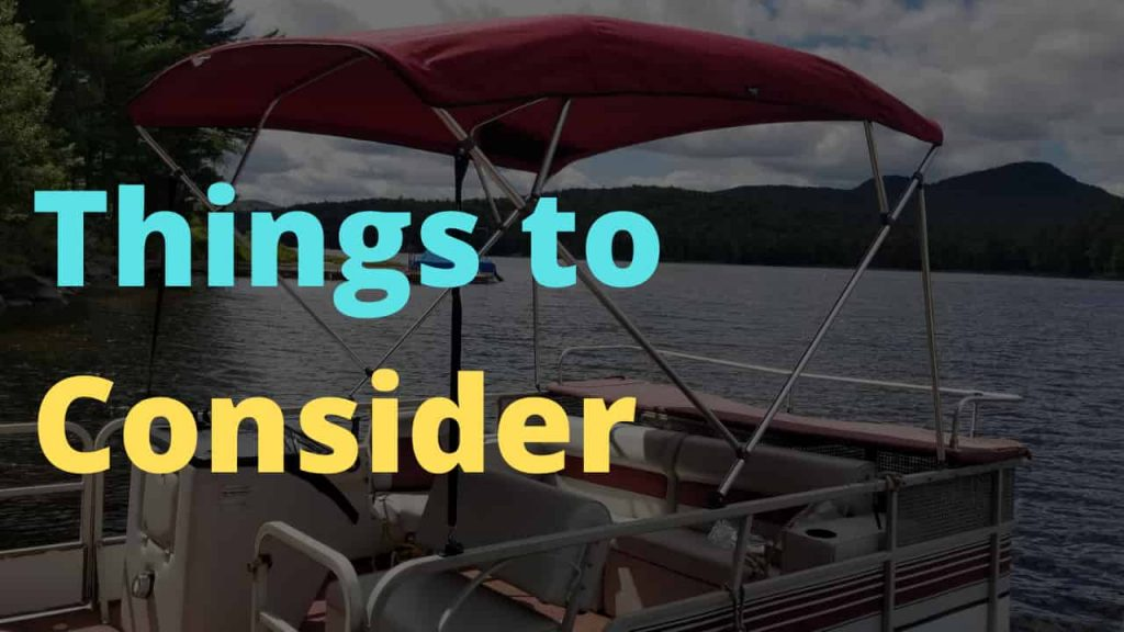 Things To Consider Before Buying a Pontoon Sun Shade