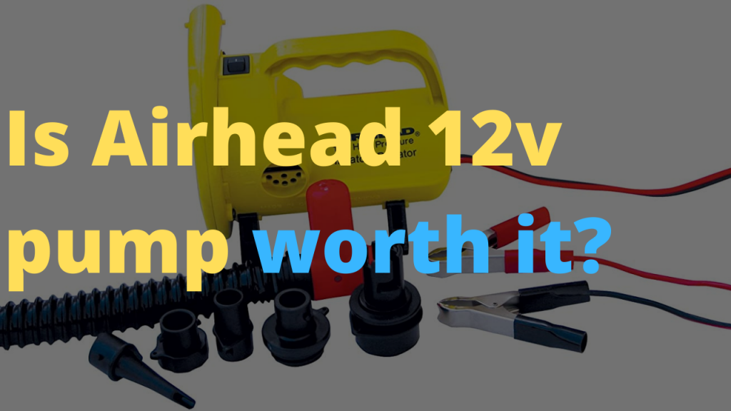 Airhead 12v high pressure pump review- What is my take? Is it worth it