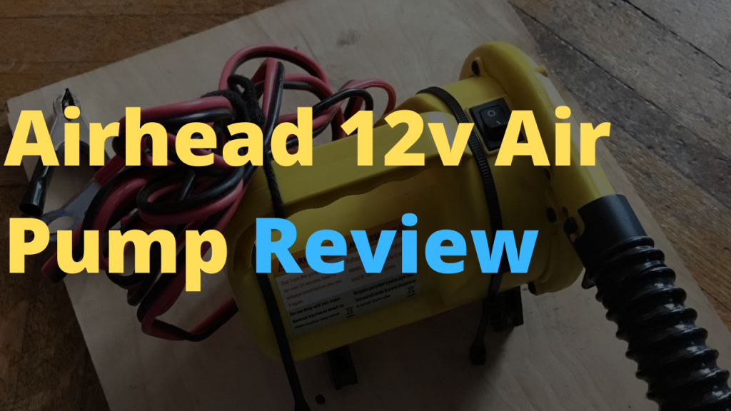 Airhead High Pressure 12V Electric Pump Review