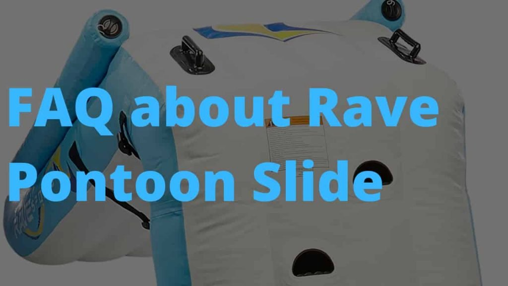 Best water slides for pontoon - Rave pontoon slide review - is it worth it