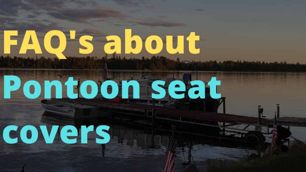 Pontoon boat seat covers for the money